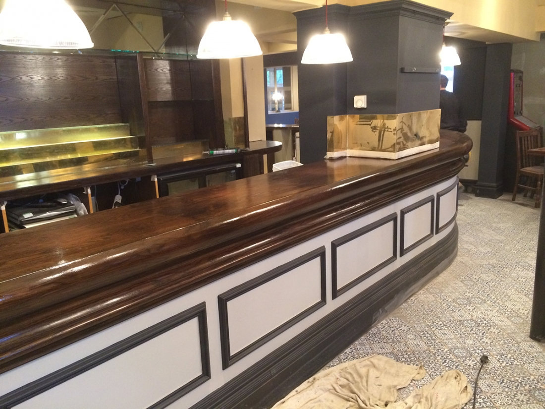 Bar Refurbishment
