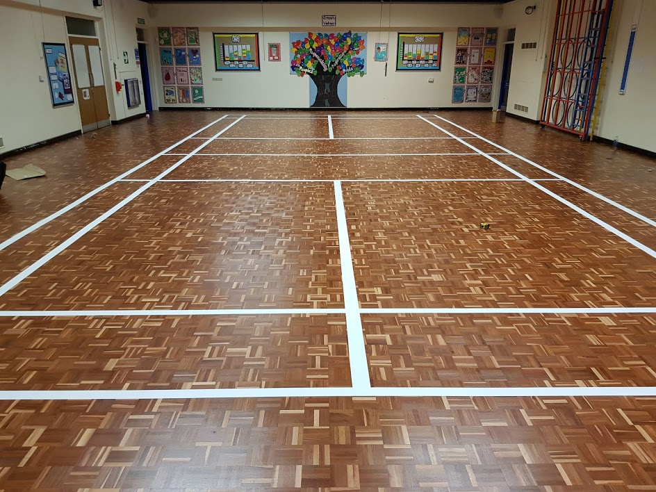 School Badminton Restoration