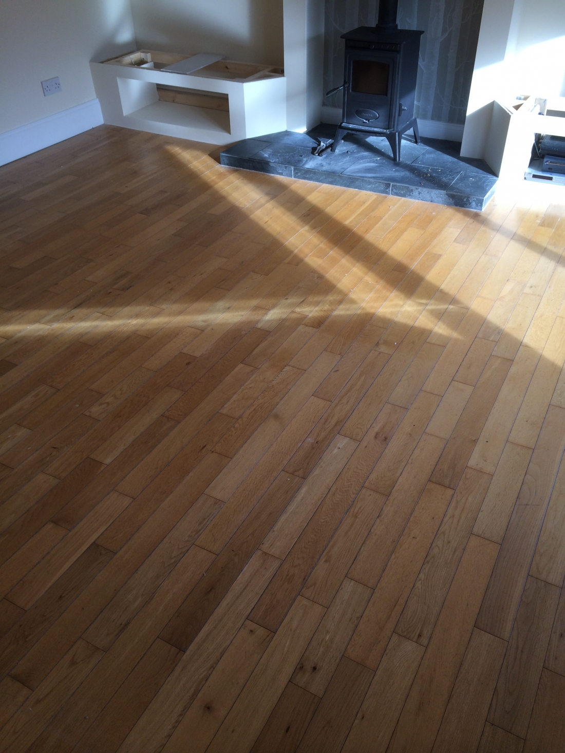 Oak Floor Restored